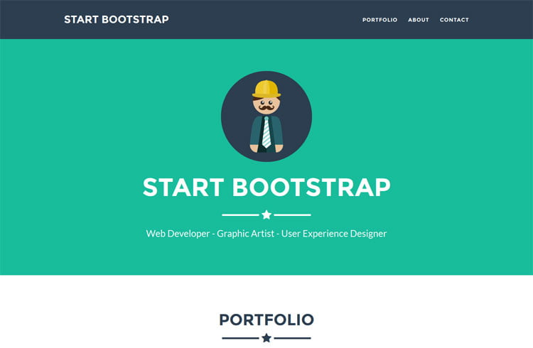 30 free bootstrap templates to download in 2018 for Bootstrap popover custom template