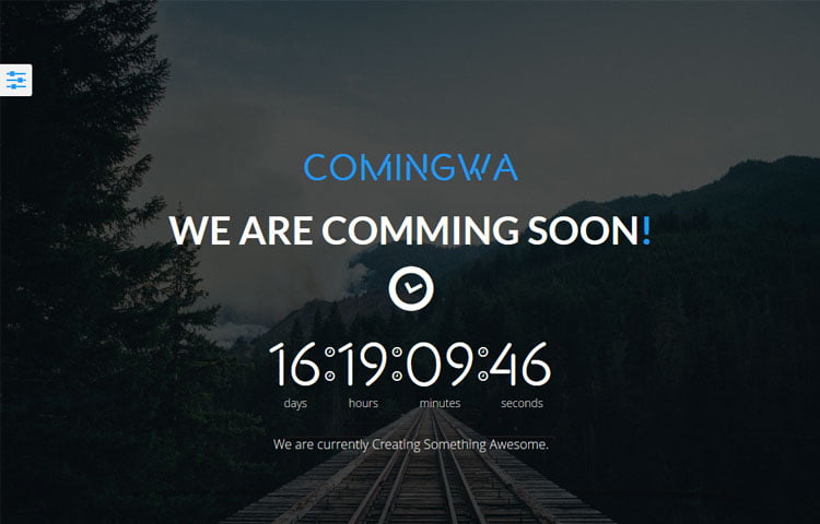 Comingwa free bootstrap coming soon template graygrids comingwa free bootstrap coming soon template pronofoot35fo Image collections