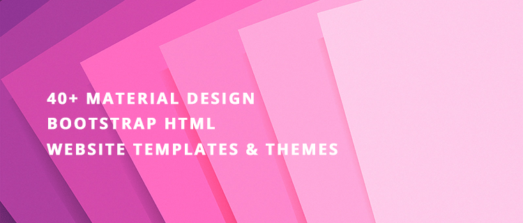 bootstrap-material-templates