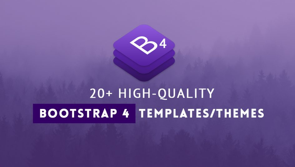 20 best bootstrap 4 templates and themes 20 best free premium bootstrap 4 templates and themes maxwellsz