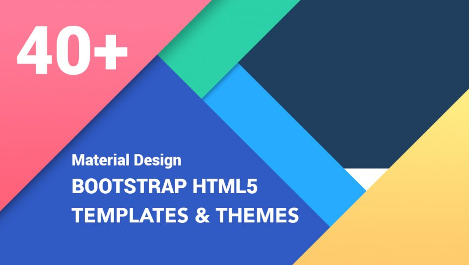 40 best free material design bootstrap templates 2018 40 best material design bootstrap html website templates to download in 2018 maxwellsz