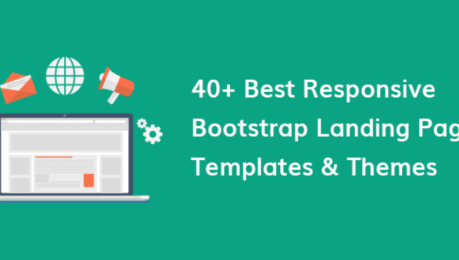 40 Best Free Premium Bootstrap Landing Page Templates Themes