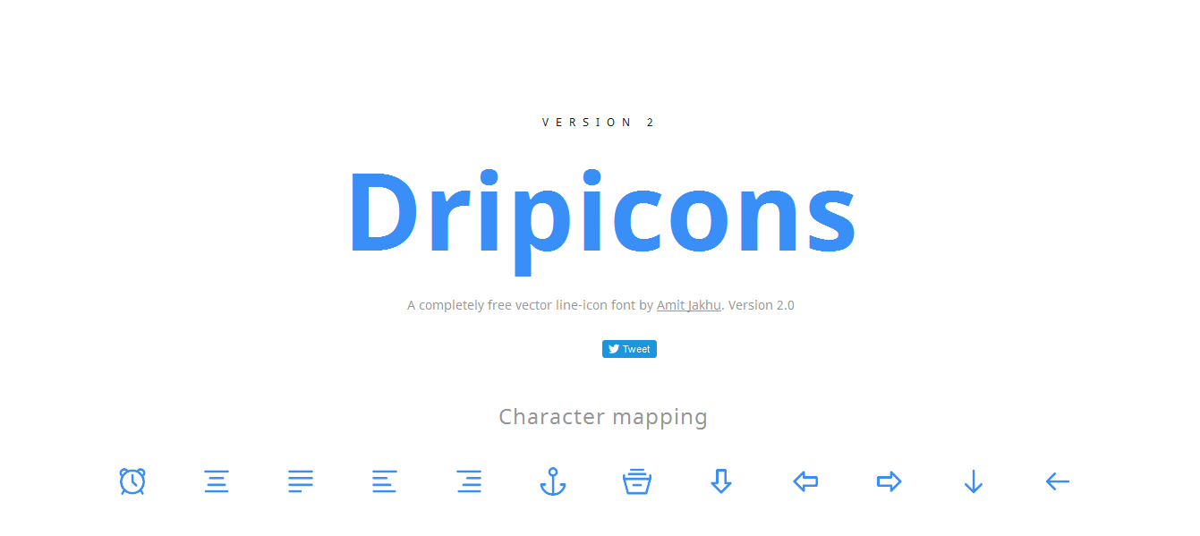 20 best free icon font packs and resources for web design projects dripicons is a helpful and reliable free iconset it is available on ai psd eps svg pdf sketch formats and provides 200 of free icons biocorpaavc Images
