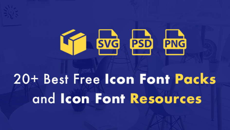 20+ Best Free Icon Font Packs and Resources for Web Design Projects