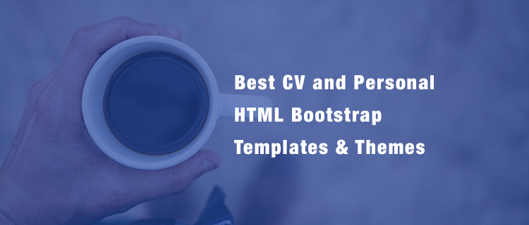 20  best cv  resume  and personal html bootstrap templates  u0026 themes