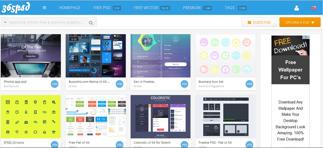 20 Top Sites To Free Download High Quality Design Freebies Elements