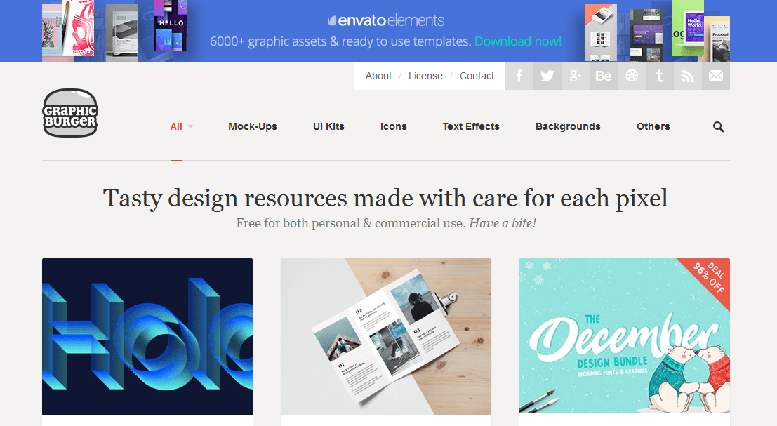 20+ Top Sites to Free Download High-Quality Design Freebies & Elements