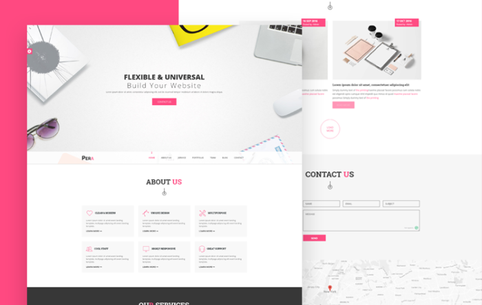 FixUp - Bootstrap HTML Template for Creative Agency | GrayGrids