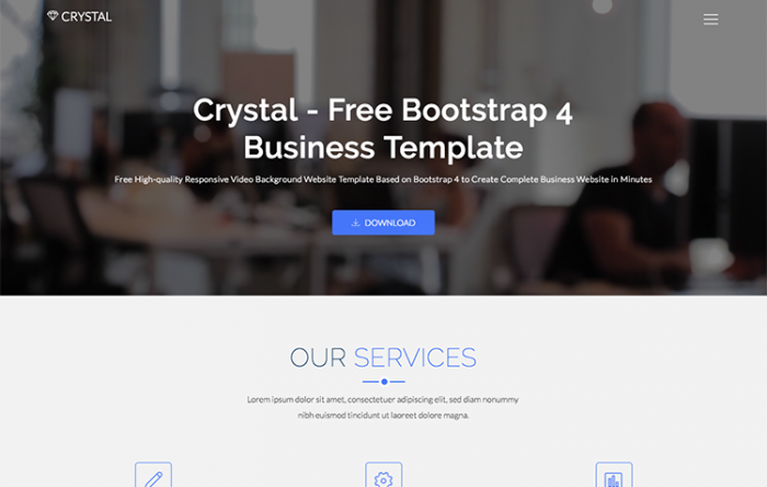how to create a website template