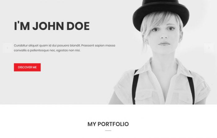bonding personal portfolio website template - Personal Resume Templates