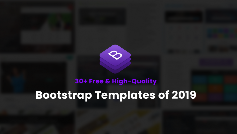 30 Free Bootstrap Templates To Download In 2019