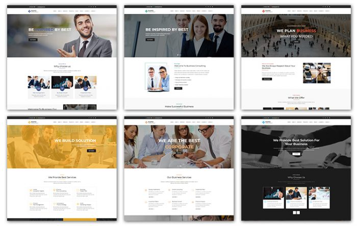 Professional html bootstrap business templates graygrids professional html bootstrap business templates accmission Images
