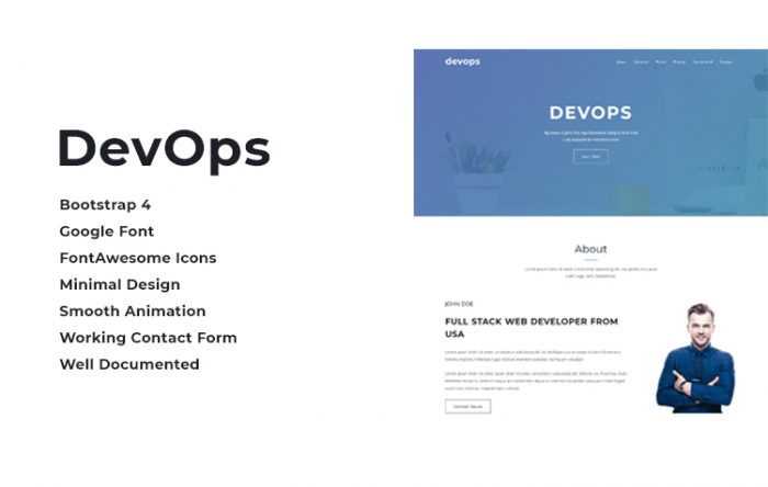 Bootstrap HTML Resume and CV Templates and Themes | GrayGrids