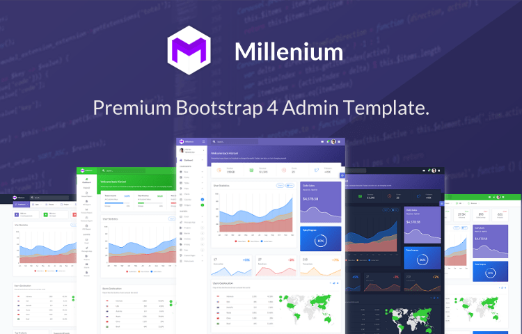 Bootstrap Admin and Dashboard Templates | GrayGrids