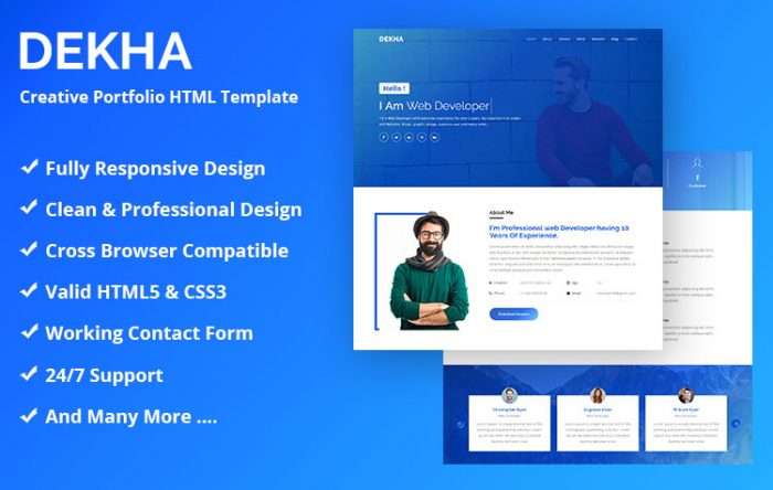 impression free bootstrap html5 event and conference template