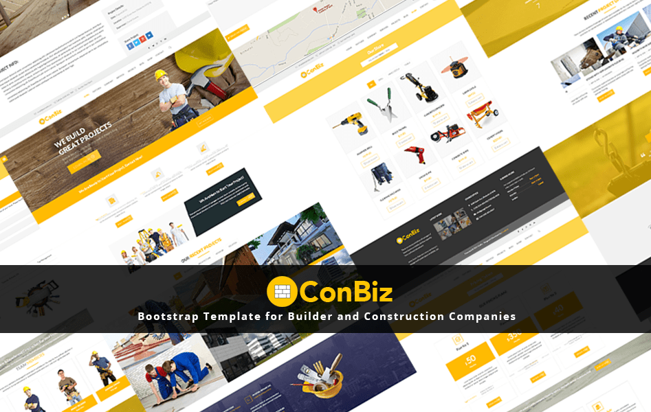 120 best free and premium bootstrap website templates of 2018 banner conbiz cheaphphosting Image collections