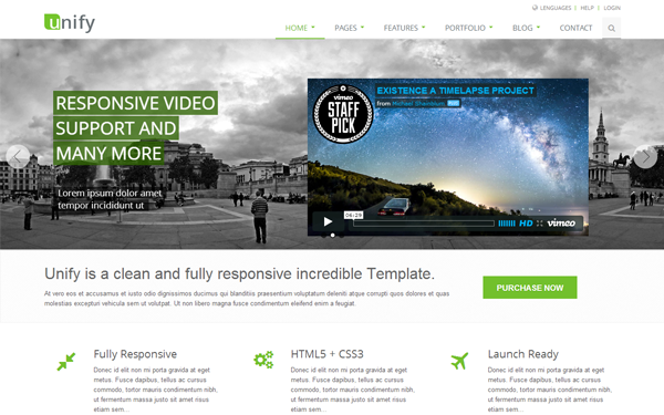 25+ Best Bootstrap Templates for Business Websites