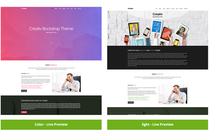 Radim responsive business html5 template graygrids creativ multipurpose bootstrap html business accmission Images