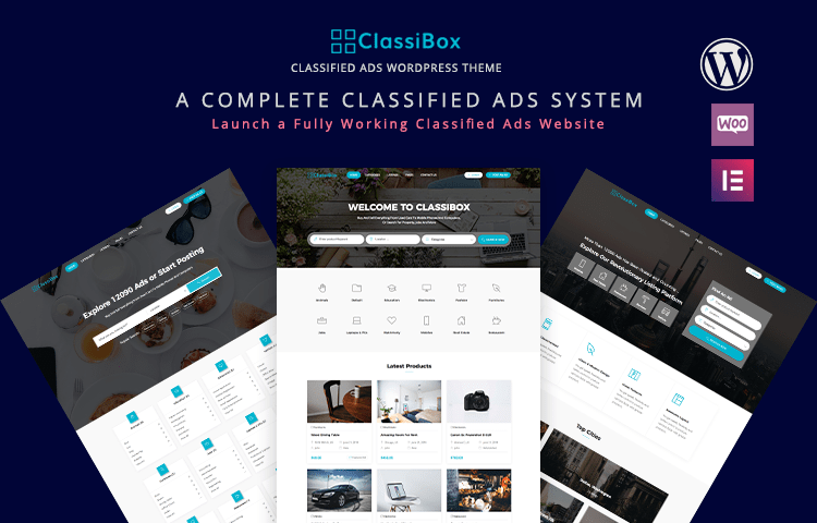 ClassiBox - Classified Ads WordPress Theme | GrayGrids