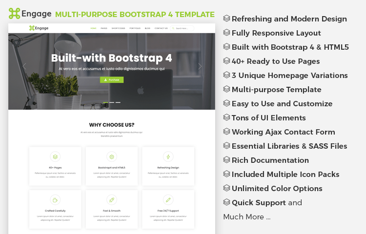 Top 30+ Free Essential Plugins to Extend Bootstrap 4