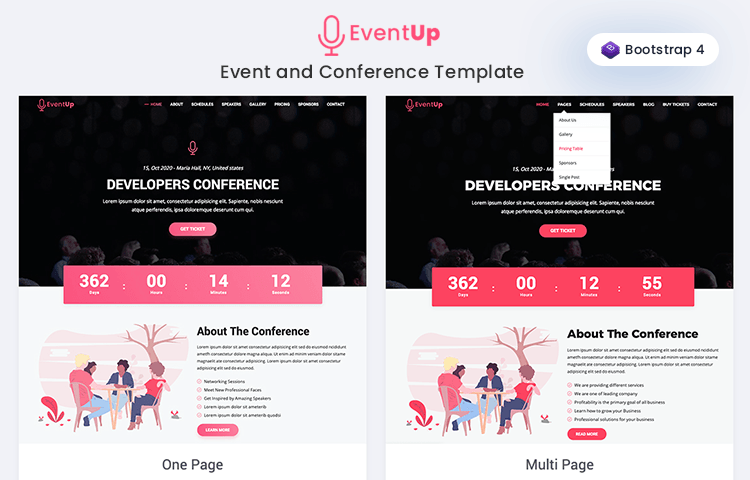 Best Free Bootstrap Templates to Download in 2019-2020
