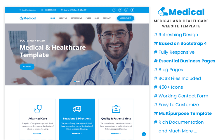 medical bootstrap